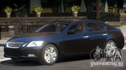 Lexus GS450 Y6 для GTA 4