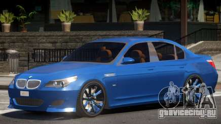 BMW M5 Lumma V1 для GTA 4