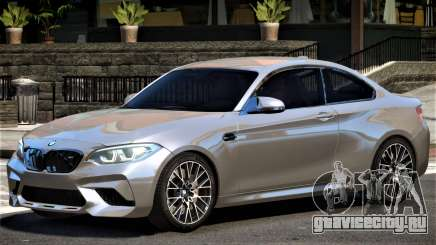 2018 BMW M2 Competition для GTA 4
