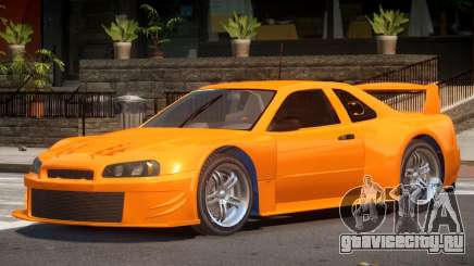 Nissan Skyline R34 ST для GTA 4