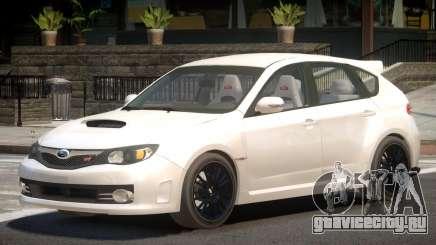 Subaru Impreza WRX STi Y9 для GTA 4
