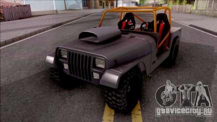 Jeep Wrangler Sand Drag для GTA San Andreas