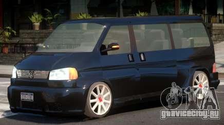 Volkswagen Transporter V1.0 для GTA 4