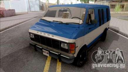 Dodge Ram Van 1989 для GTA San Andreas