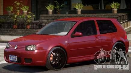 Volkswagen Golf 4 V1.0 для GTA 4