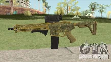 Carbine Rifle GTA V (Camuflaje) для GTA San Andreas