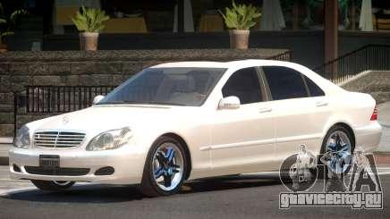 Mercedes W220 R1 для GTA 4