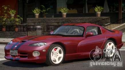 Dodge Viper V1.0 для GTA 4