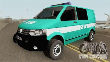 Volkswagen Transporter T6 (Zandarmeria Wojskowa) для GTA San Andreas