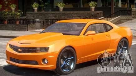 Chevrolet Camaro SS V1.0 для GTA 4