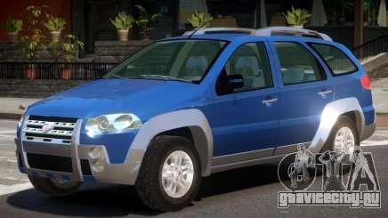 Fiat Palio V1.0 для GTA 4