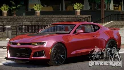 Chevrolet Camaro ZL1 GT для GTA 4