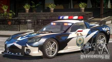 Chevrolet Corvette Police для GTA 4
