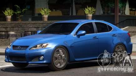 Lexus IS F V1.3 для GTA 4