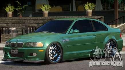 BMW M3 Tuning V1.2 для GTA 4