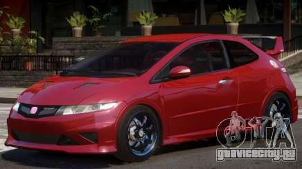 Honda Civic Type-R V1.0 для GTA 4