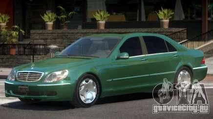 Mercedes W220 R2 для GTA 4