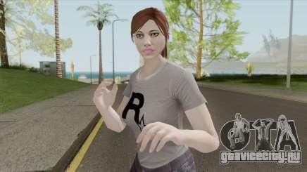 GTA Online Skin Random Female V1 для GTA San Andreas