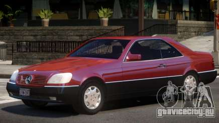 1994 Mercedes Benz C140 для GTA 4