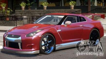 Nissan GT-R 35 V1.0 для GTA 4