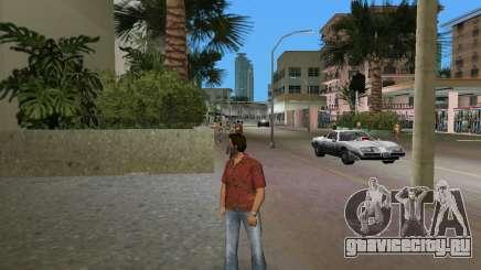 Качественная красная рубашка для GTA Vice City