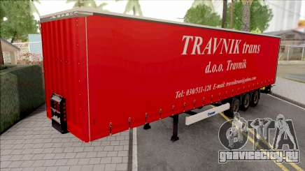 Travnik Trans Trailer для GTA San Andreas