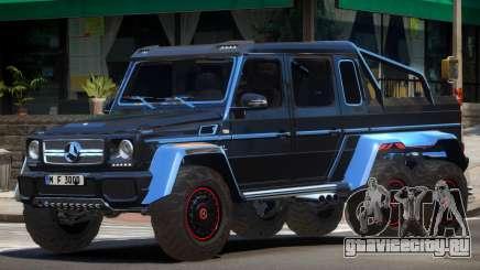 Mercedes Benz G63 AMG 6x6 для GTA 4