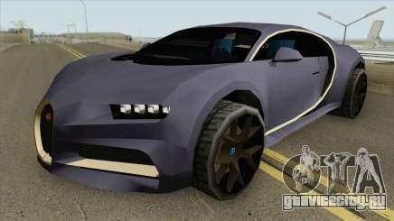 Bugatti Chiron Sport (SA Style) 2018 для GTA San Andreas