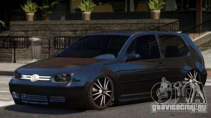 Volkswagen Golf 4 Tuned для GTA 4
