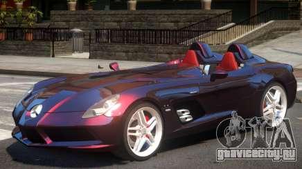 Mercedes-Benz SLR Stirling Moss для GTA 4
