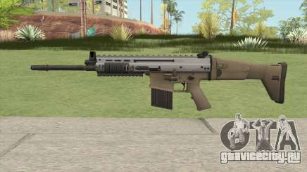 SCAR-H (Arctic Combat) для GTA San Andreas