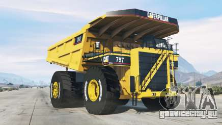 Caterpillar 797 для GTA 5
