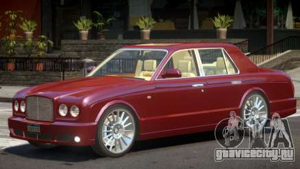 Bentley Arnage V1.1 для GTA 4