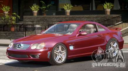 Mercedes SL65 Coupe для GTA 4