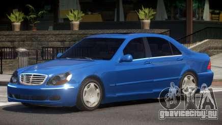Mercedes S600 V1 для GTA 4