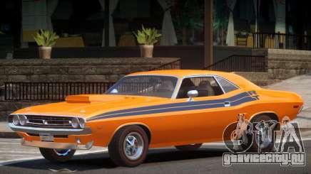 1971 Dodge Challenger R2 для GTA 4