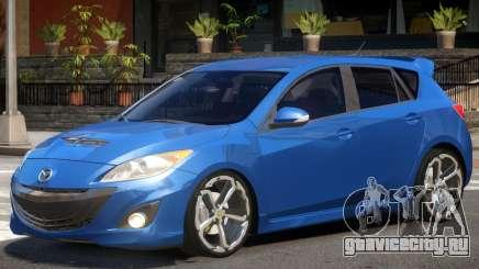 Mazda 3 V1.0 для GTA 4