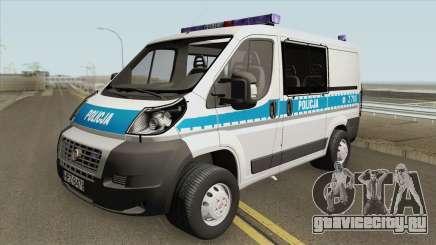 Fiat Ducato (Policja KSP) для GTA San Andreas