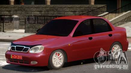 Daewoo Lanos V1.0 для GTA 4