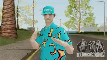Random Skin (Golf Wang Flames) для GTA San Andreas