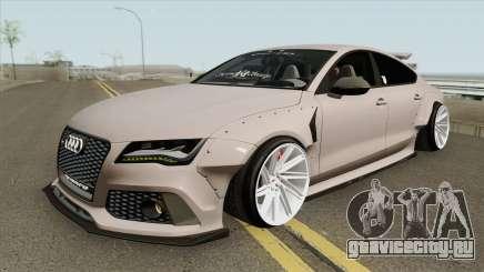 Audi RS7 Sportback X-UK 2013 для GTA San Andreas