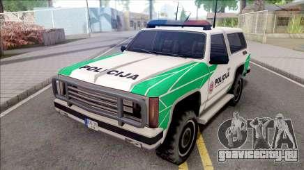 Lietuviska Police Ranger (Nauja) для GTA San Andreas