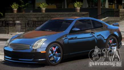 Nissan Skyline 350GT для GTA 4