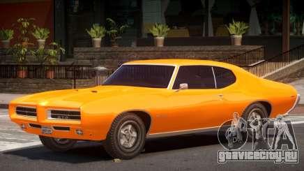 1972 Pontiac GTO V1.1 для GTA 4
