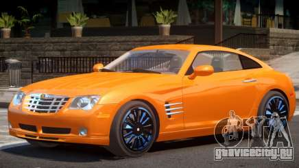 Chrysler Crossfire V1 для GTA 4