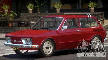 Volkswagen Brasilia V1.0 для GTA 4