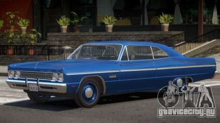 1968 Plymouth Fury для GTA 4