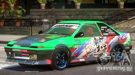 Toyota Corolla GT PJ для GTA 4