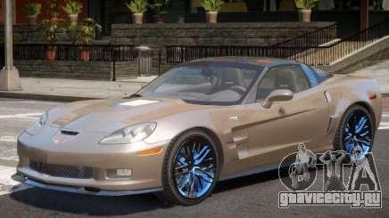 Chevrolet Corvette ZR1 V1.0 для GTA 4