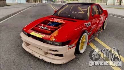 Nissan Silvia S13 1993 Drift by Hazzard Garage для GTA San Andreas